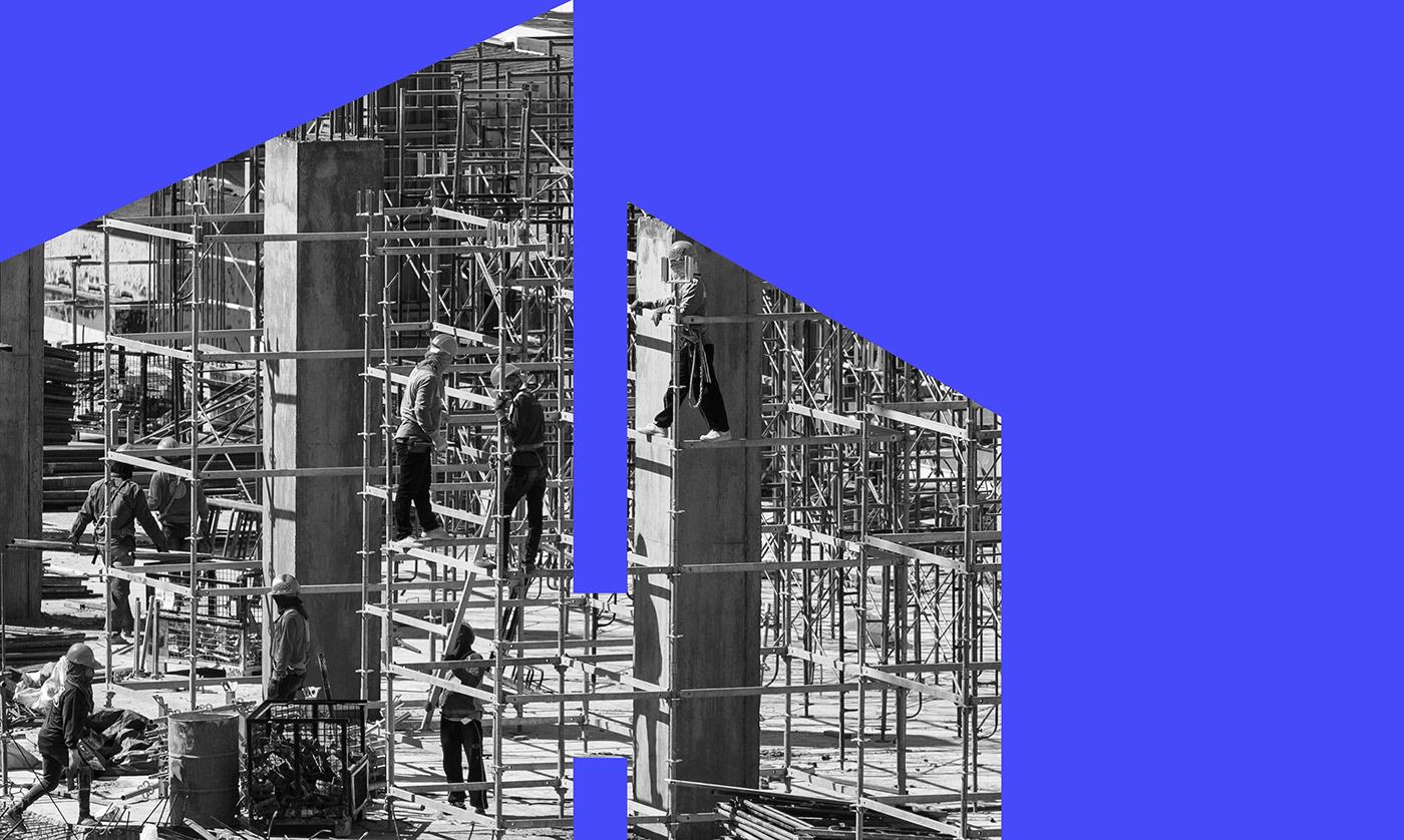 brand identity branding  construction Logo Design marketing   real estate