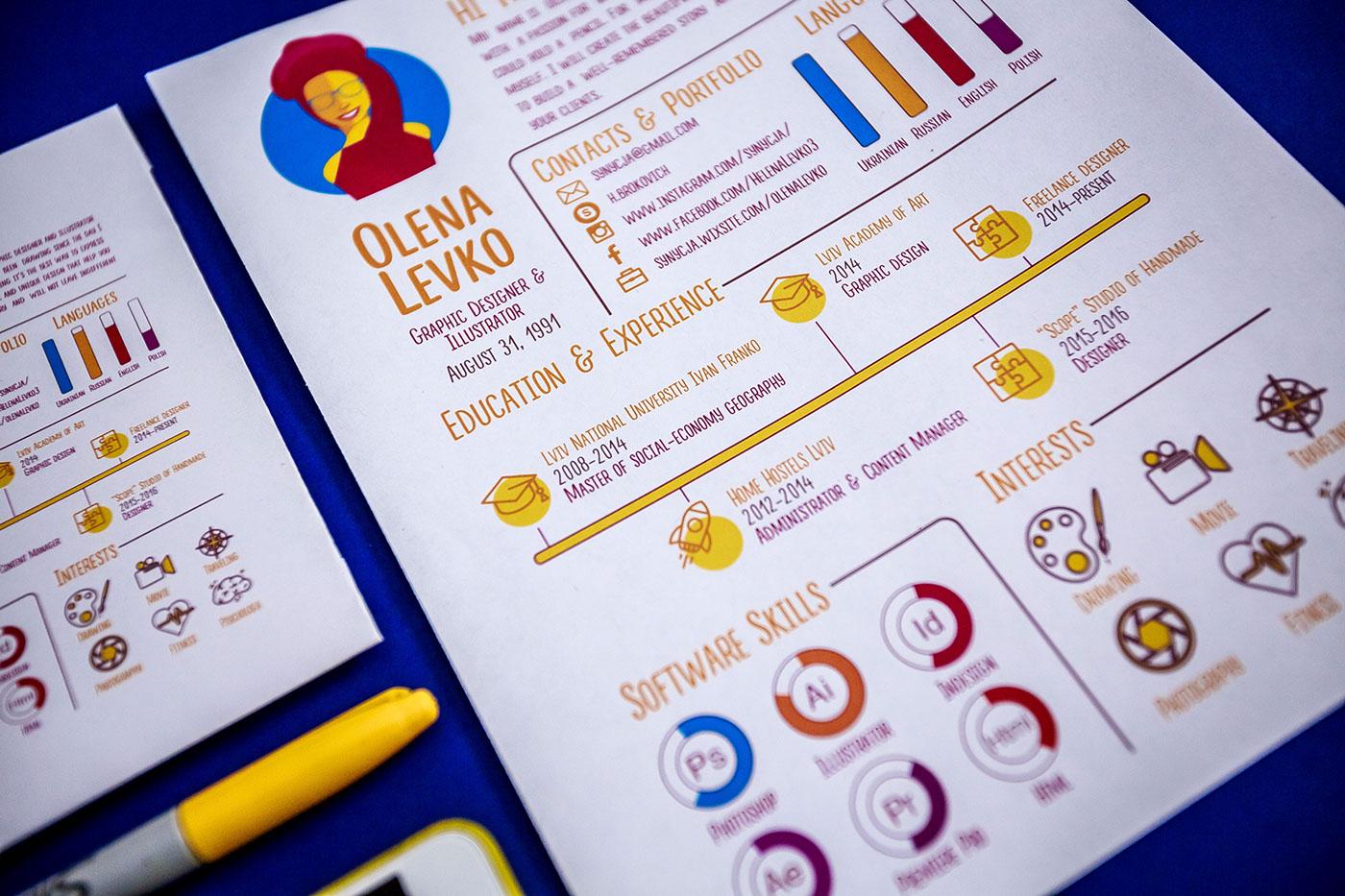 free,infographic,Resume,CV,template,Mockup,freebie,graphicdesign,designer