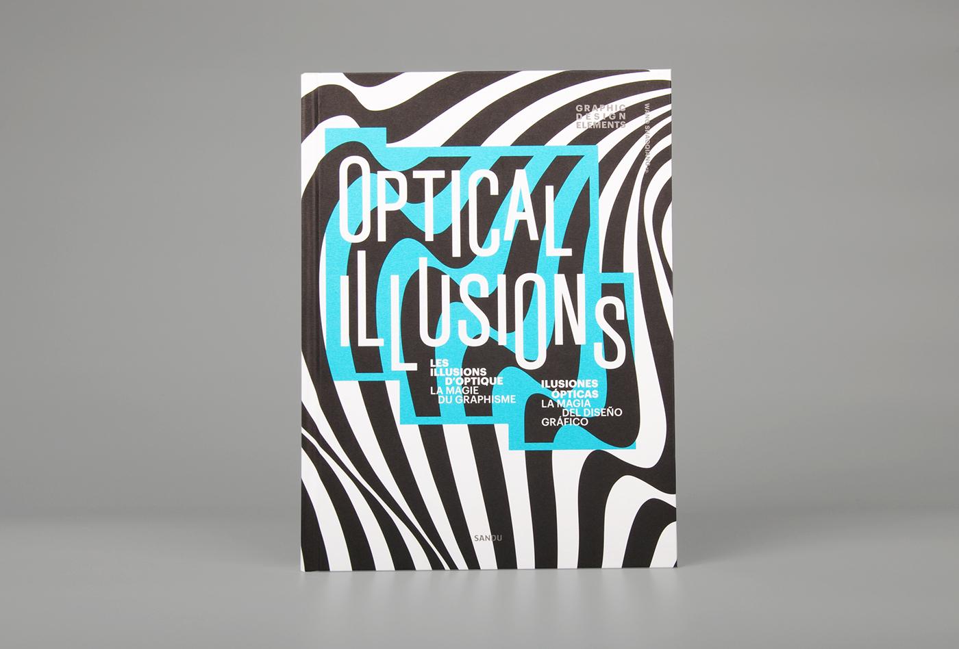 Graphic Design Elements - Optical Illusions on Behance  Optical Illusion Logo