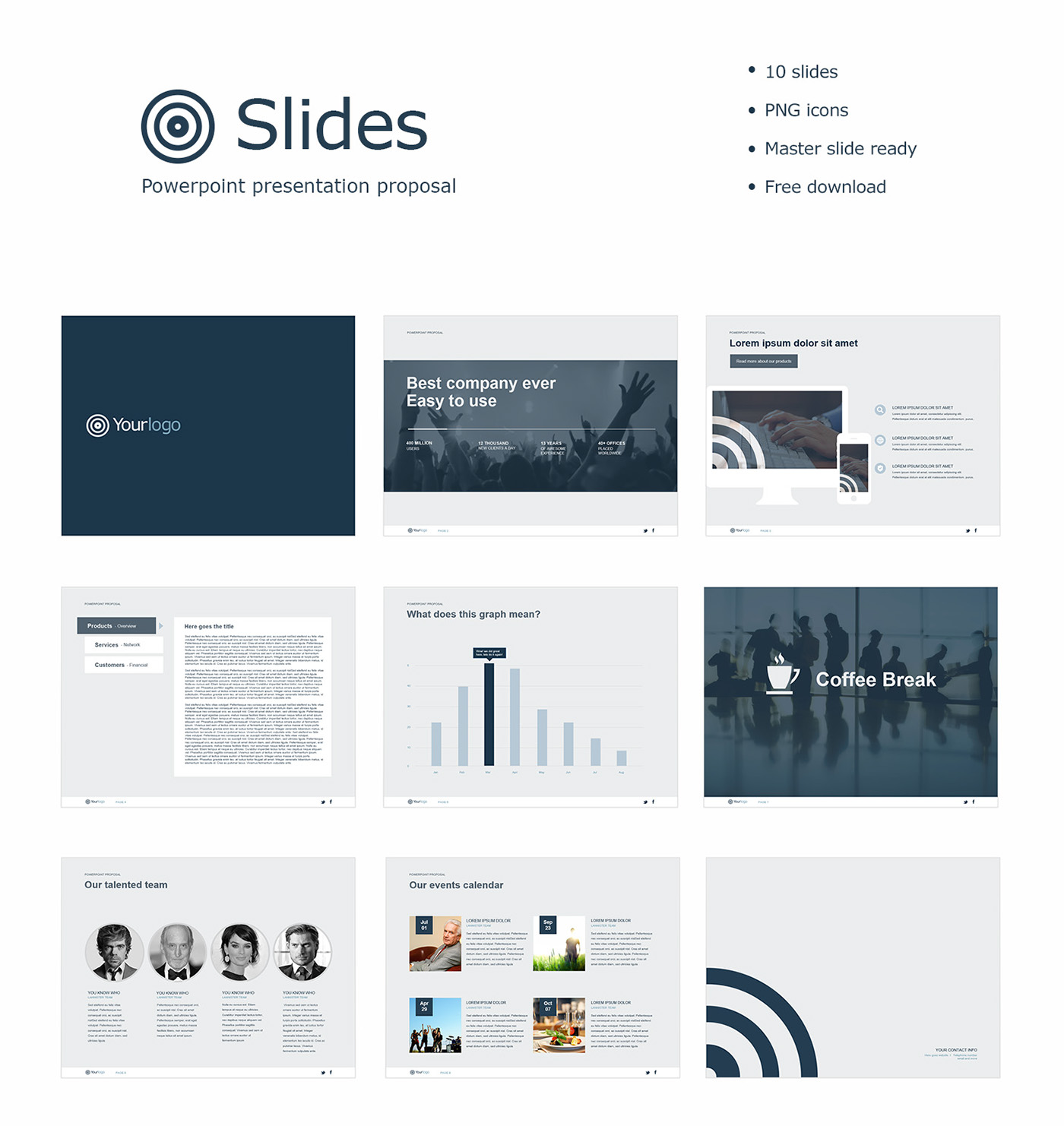 Template Powerpoint Gratis: Free Powerpoint Template On Behance