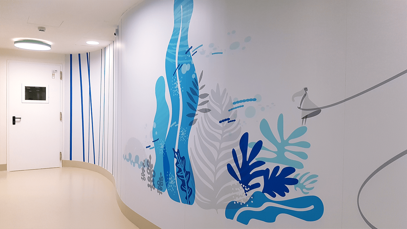 conceptual Illustrator vettoriale concettuale flat Vectorial wall decoration