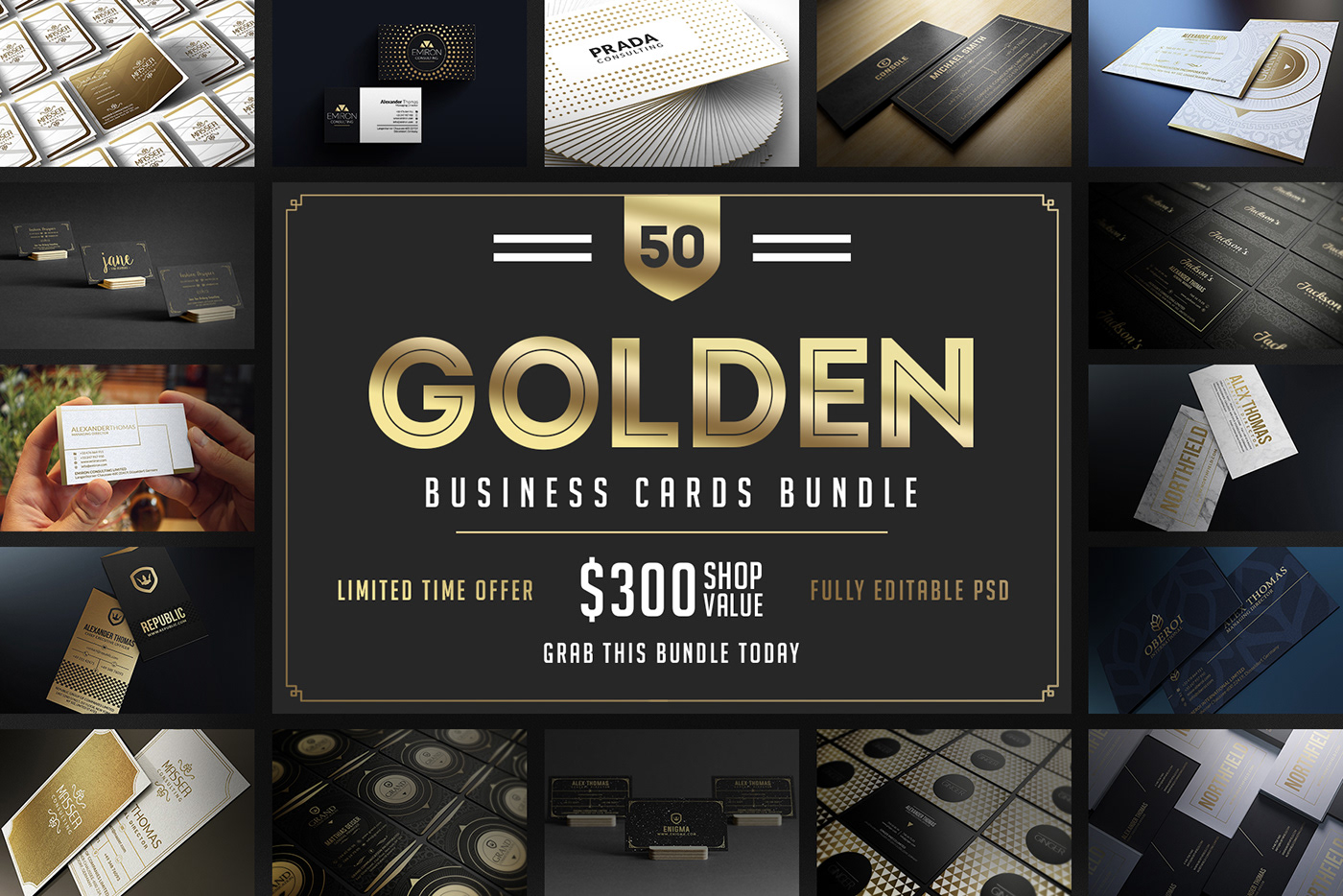 50 golden business cards bundle on behance 50 golden business cards bundle there are a number of ways for your business to prosper and sharing your classy and unique business card is one way to go colourmoves