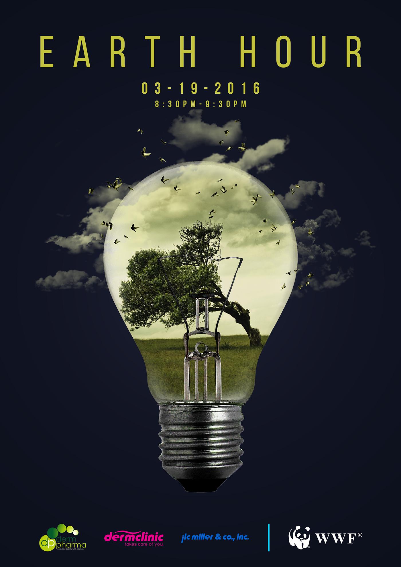 有美感的12套愛護地球海報欣賞