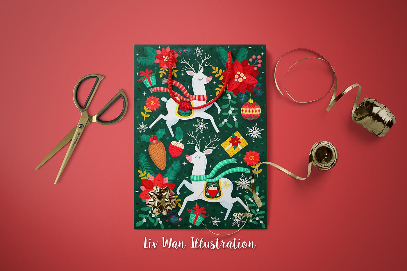 細緻的28個聖誕節賀卡欣賞