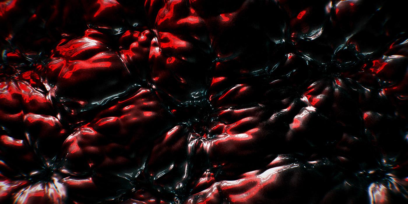 CGI cinema 4d design Film   houdini motion R&D redshift sounddesign texture