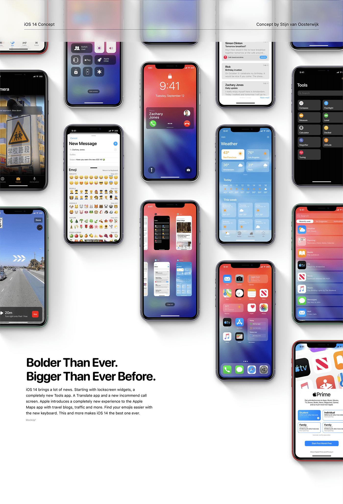 apple concept ios iphone ios 14 iOS 14 concept ios concept iPadOS 14 iphoneOS 14 iOS 15