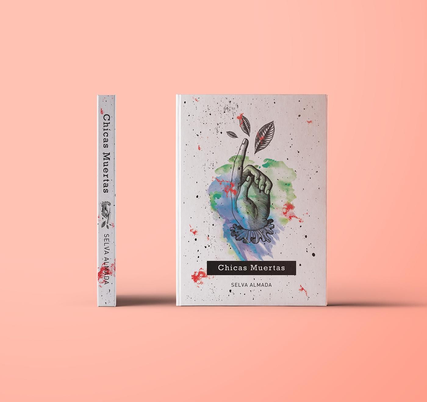 cover books editorial typography   ILLUSTRATION  print colorful portadas libros literature