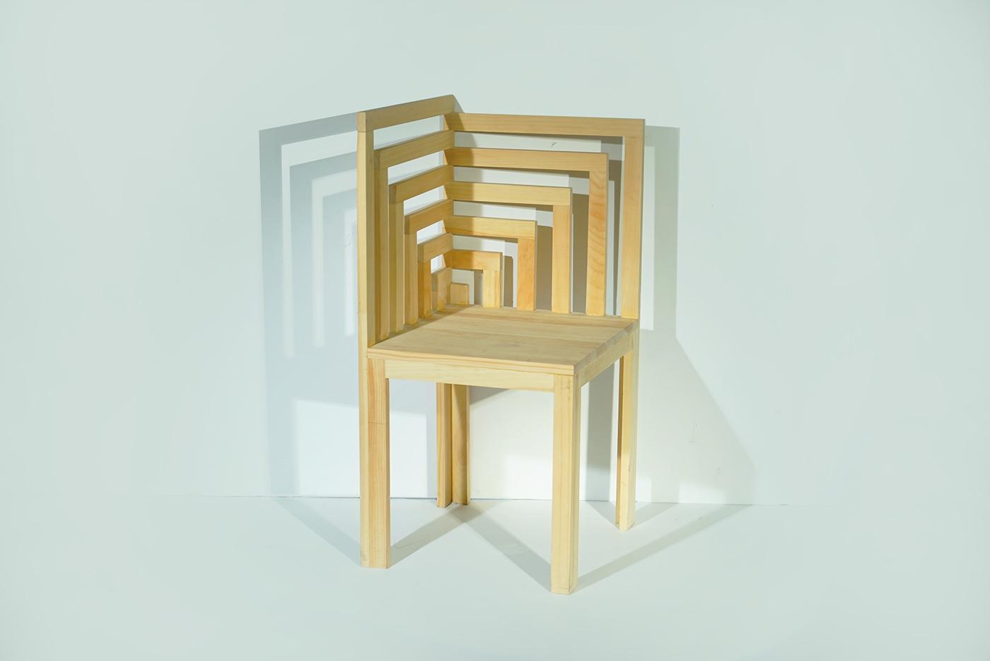 The Maze Corner Chair. Fall 2016