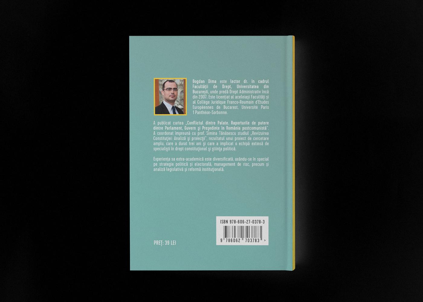 Doctor of Law book cover book design cover design Bogdan Dima Cristi Ursea Dsgnr Studio