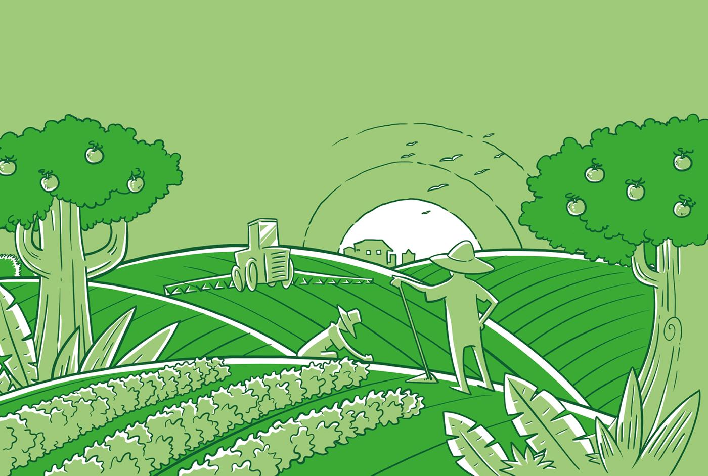 design Packaging fertilizante Fertilizer agroindustry Agro