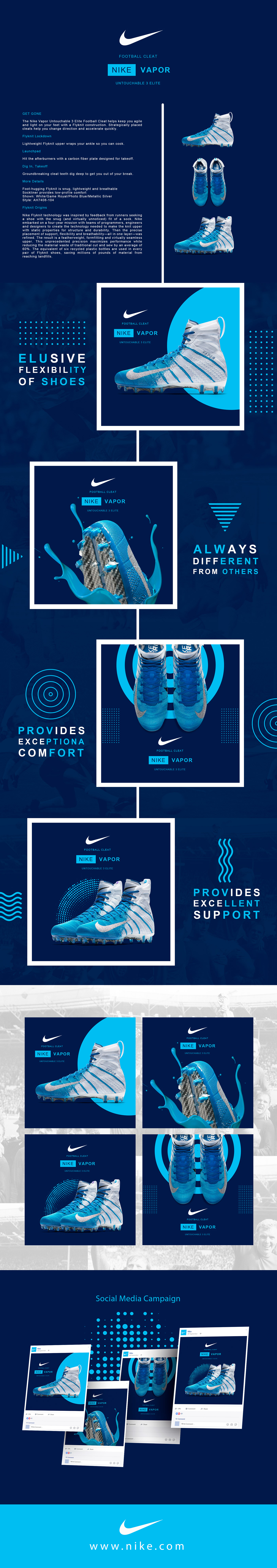 Nike social media ads campaign