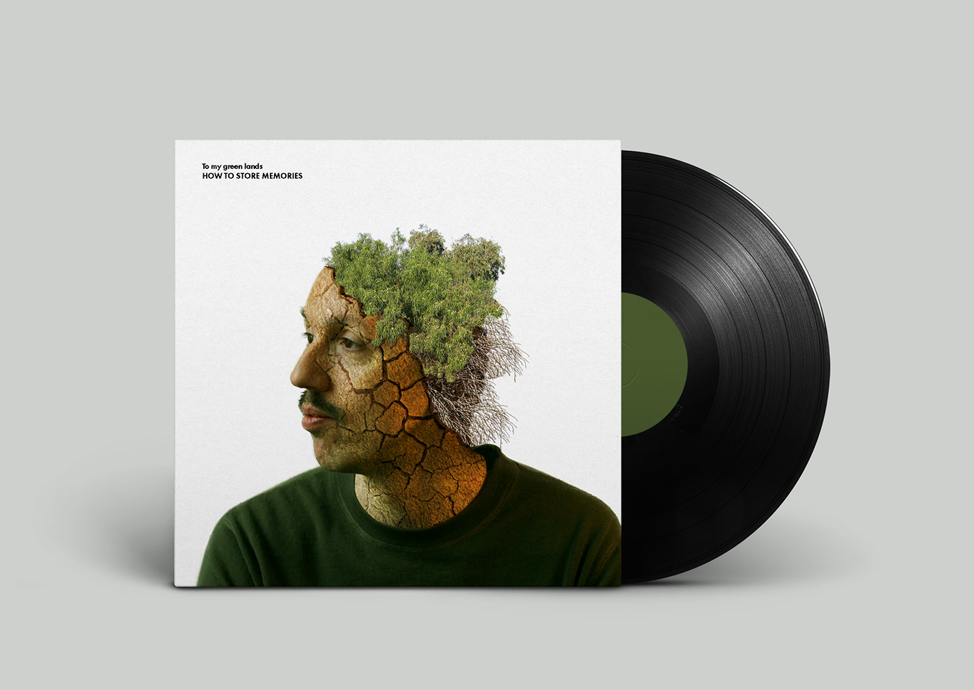 To My Green Lands Vinyl Record On Behance