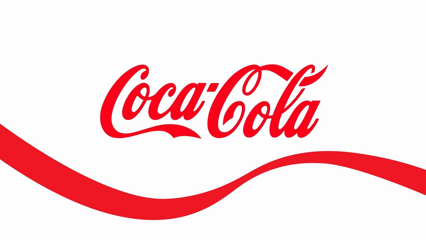 brands cocacola coke drink LOGOMOTIONS logos motiongraphics soda typography
