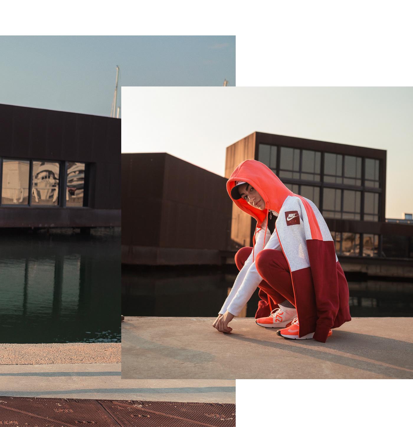 barcelona bcn Fashion  Nike photoshoot portrait primaverasound sonar streetstyle summer