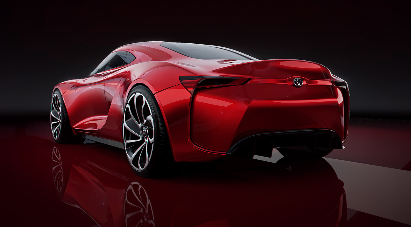 toyota mr2 car design concept ft1 gazoo Racing automotive   designer