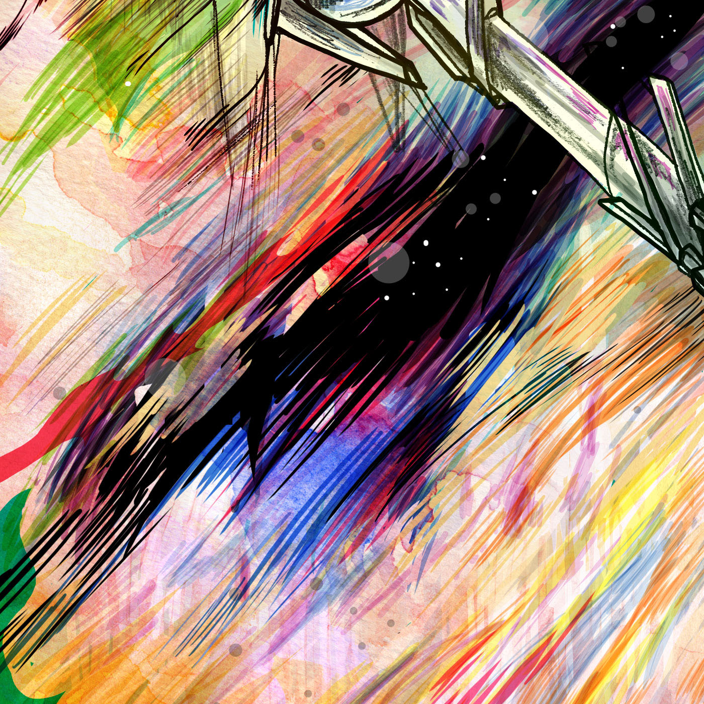 portrait draw sketch sketching lovetherobot robot Space  Scifi colors colour pencil graphite