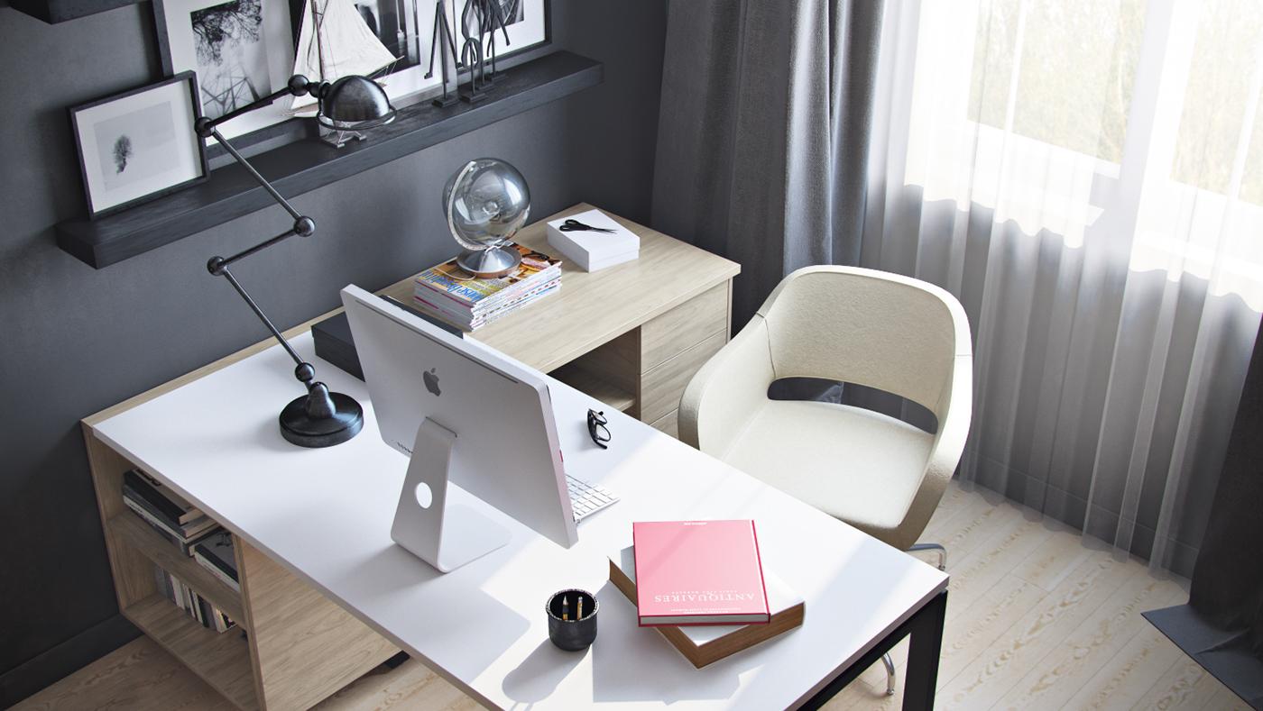 Угловой компьютерный стол (104 фото): рабочий столик с тумбо.