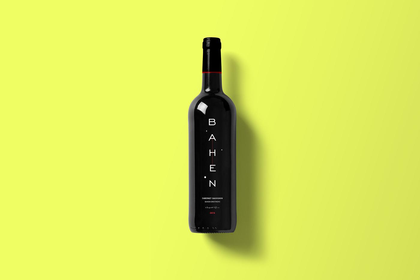 Packaging,design,concept,wine,Label,colors,minimalistic,exploration,branding ,cabernet