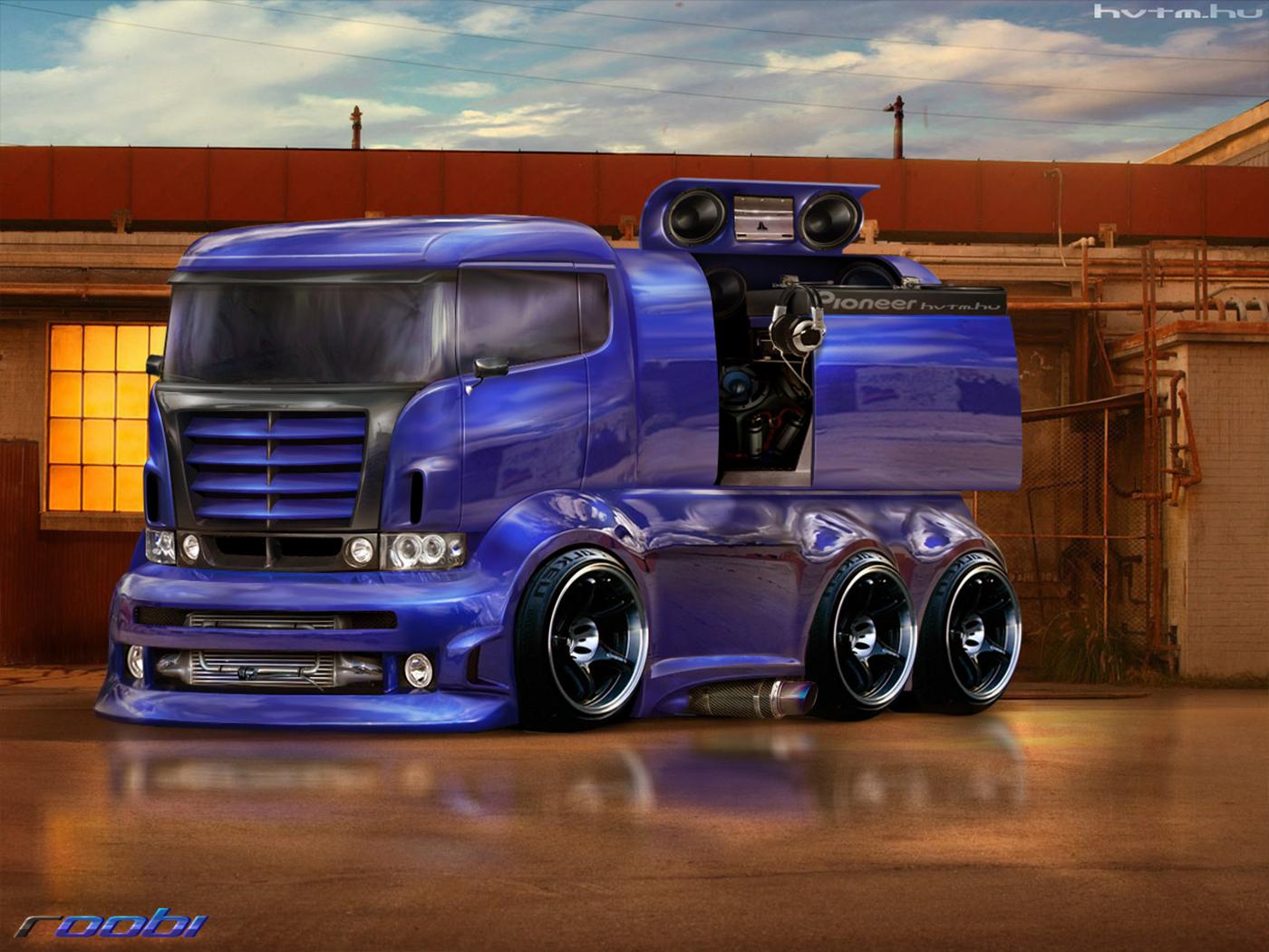 Фото тюнинг грузовых отечественных машин