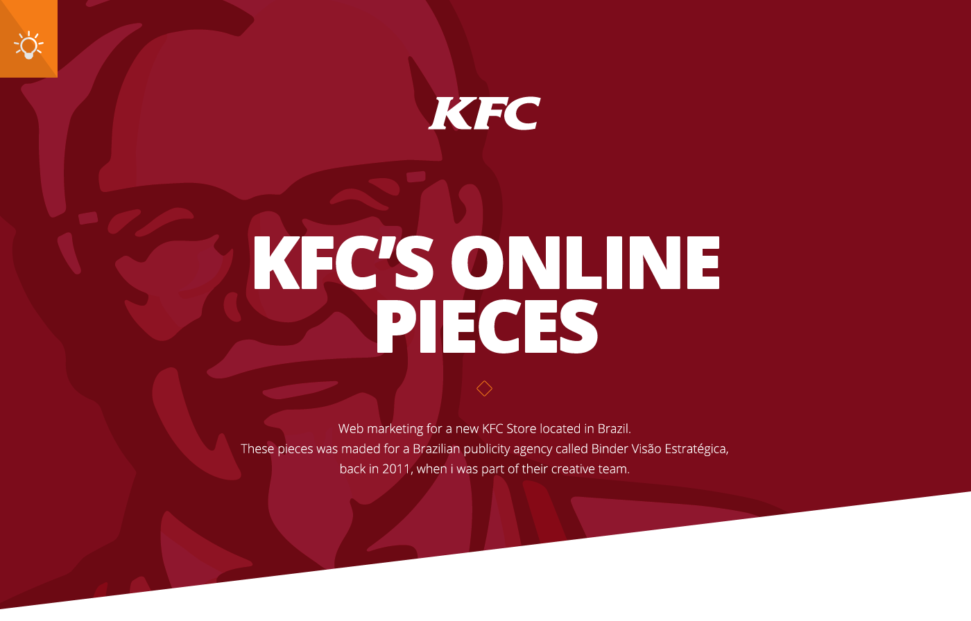 kfc marketing paper The paper will focus primarily on kfc's presence in china, comparing some of the differences in the decisions that were made for kfc in the marketing sector in the us as compared to the chinese market.