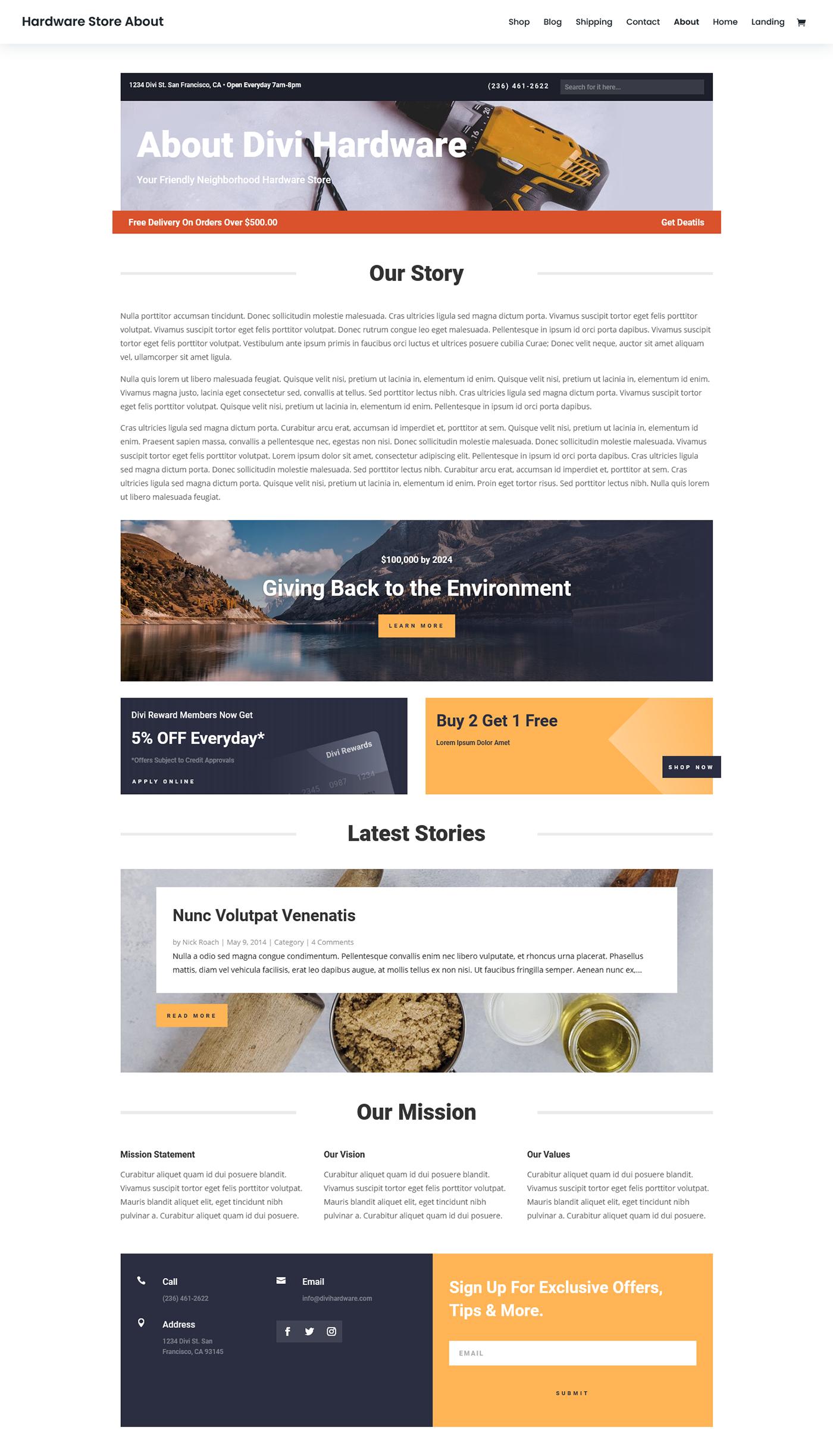 hardware company website hardware shop web development  Website Design website development zaman ador