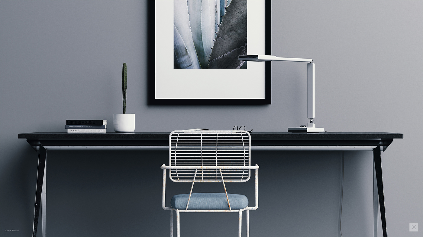concept design industrial design  product design  3D rendering CGI Lamp cmf keyshot fusion 360