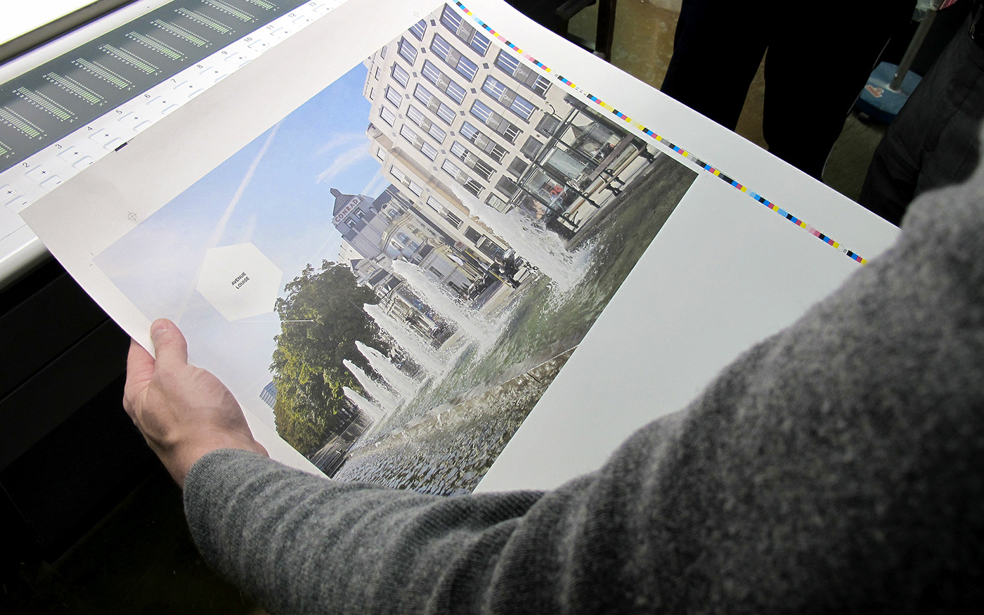 brochure silkscreen White cardboard real estate offset spiral binding braided elastic