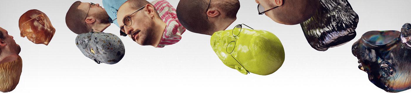 3D animation  blender design ILLUSTRATION  motion design music video psychedelic Render uncanny