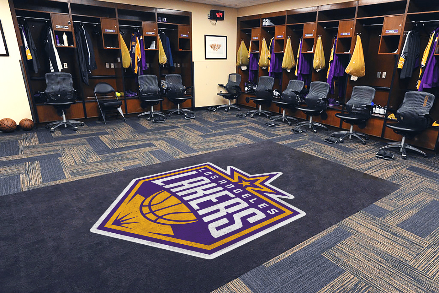 huge selection of 26c45 4f8a3 Los Angeles Lakers / Identity on Behance