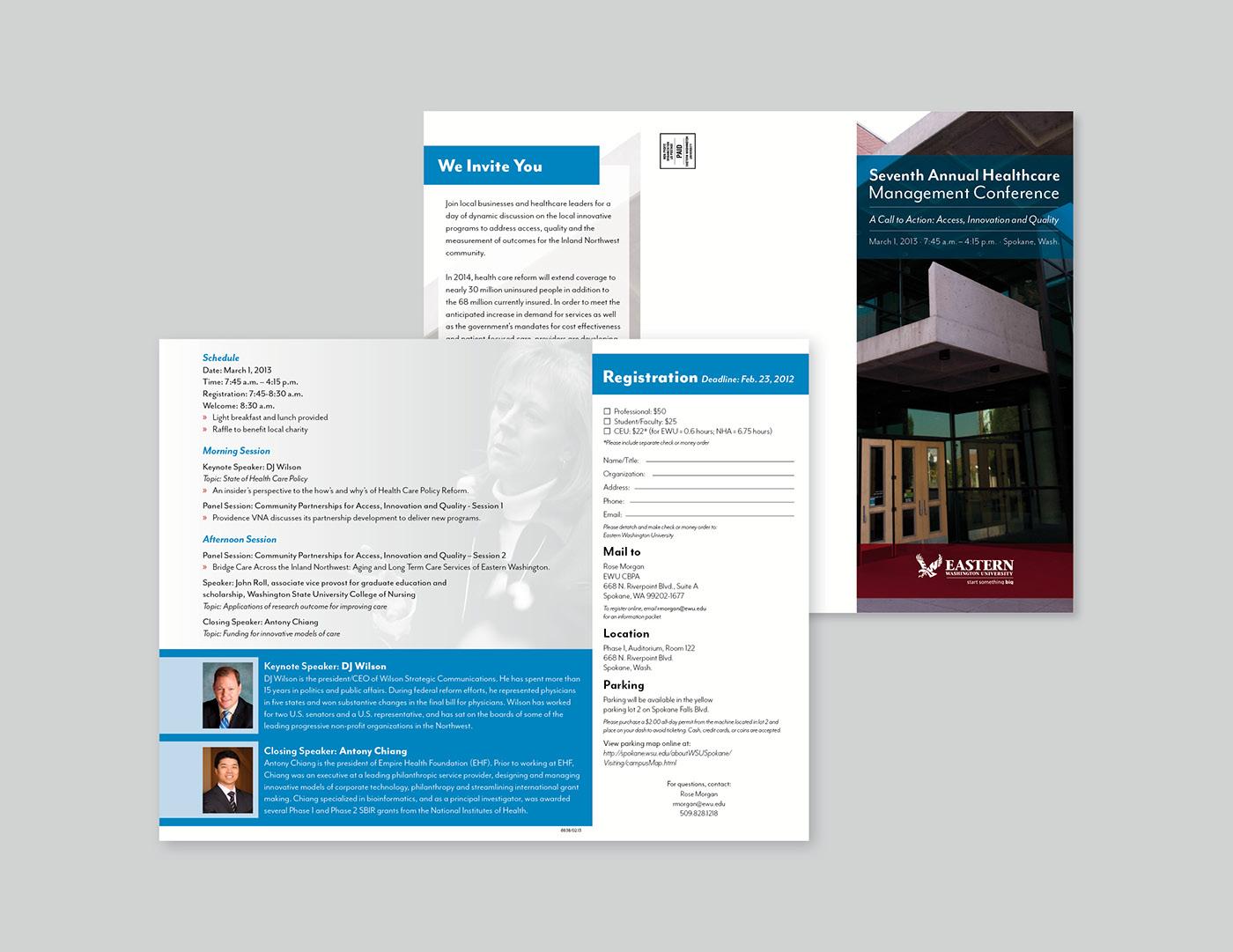Healthcare Management Brochure on Behance