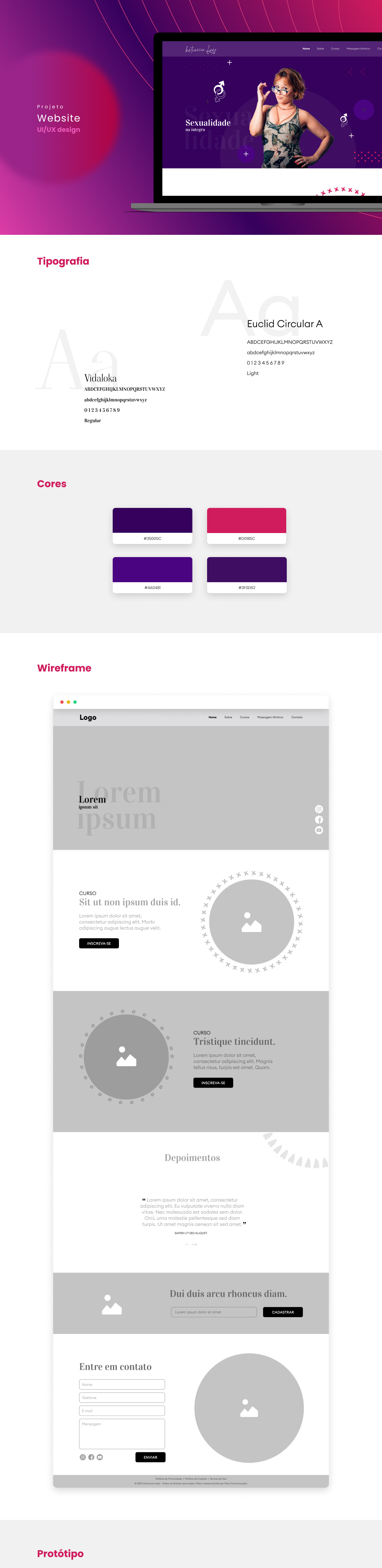 design desktop layoult ui design UX design Web Website
