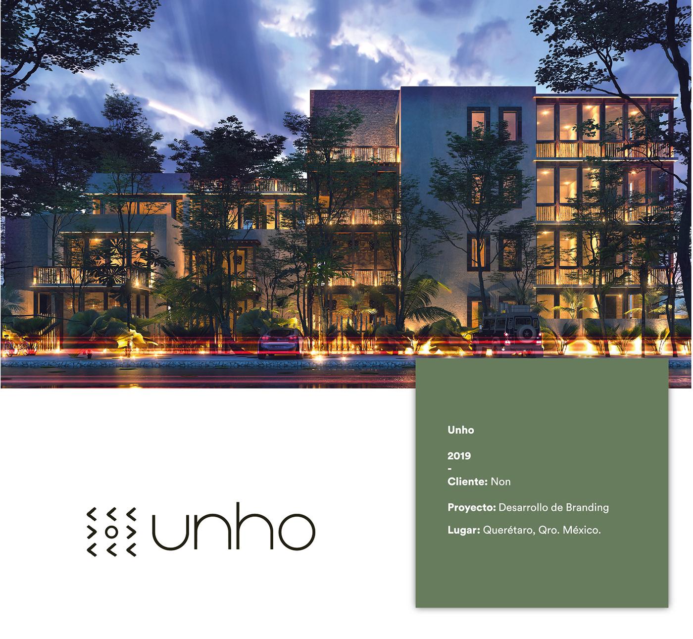 arquitecture design brand tulum mexico graphic