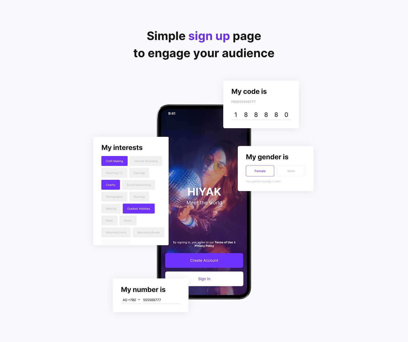 application branding  design illustrations Interface logo Mobile app Promotion UI/UX Web Design