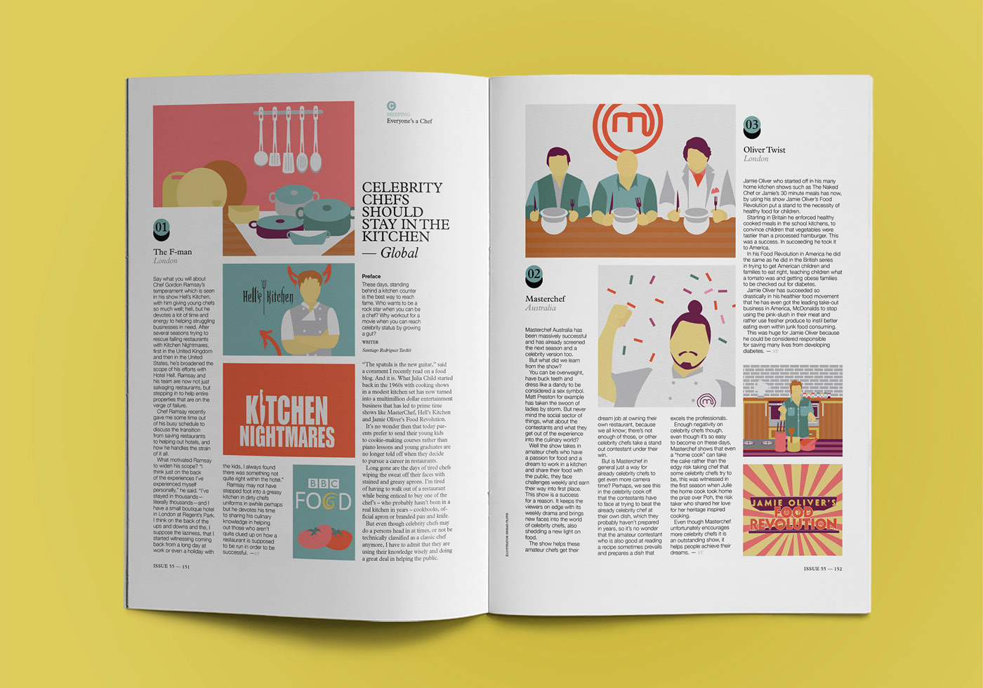 The gallery for --> Monocle Magazine Spread