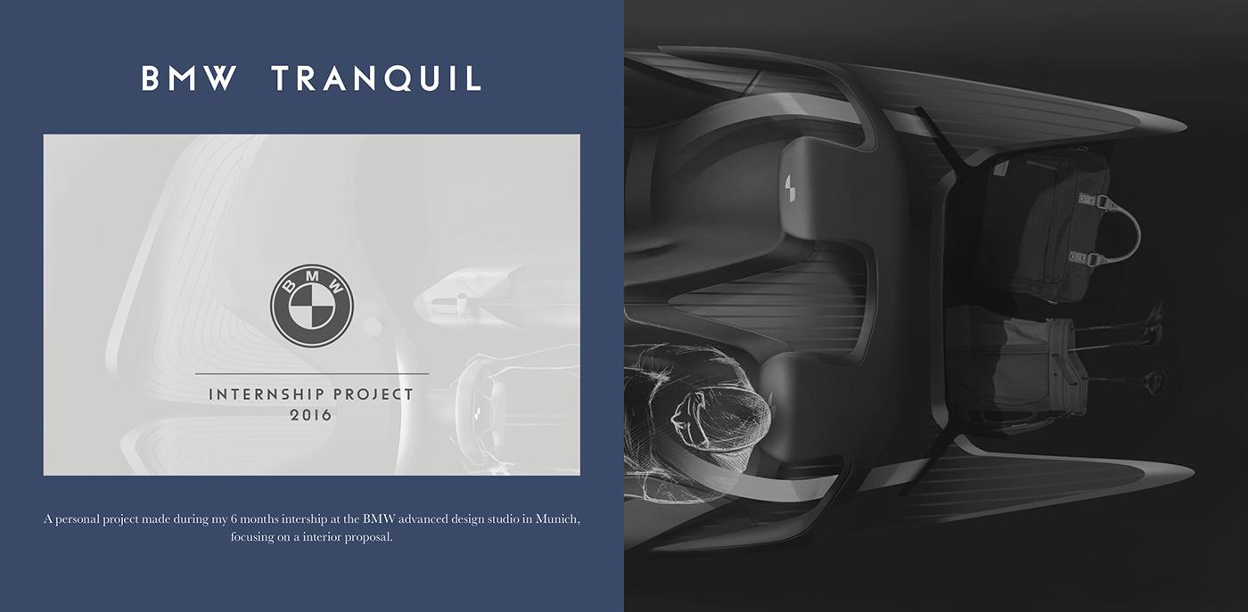 BMW design tangible exterior Interior sketch photoshop cardesign