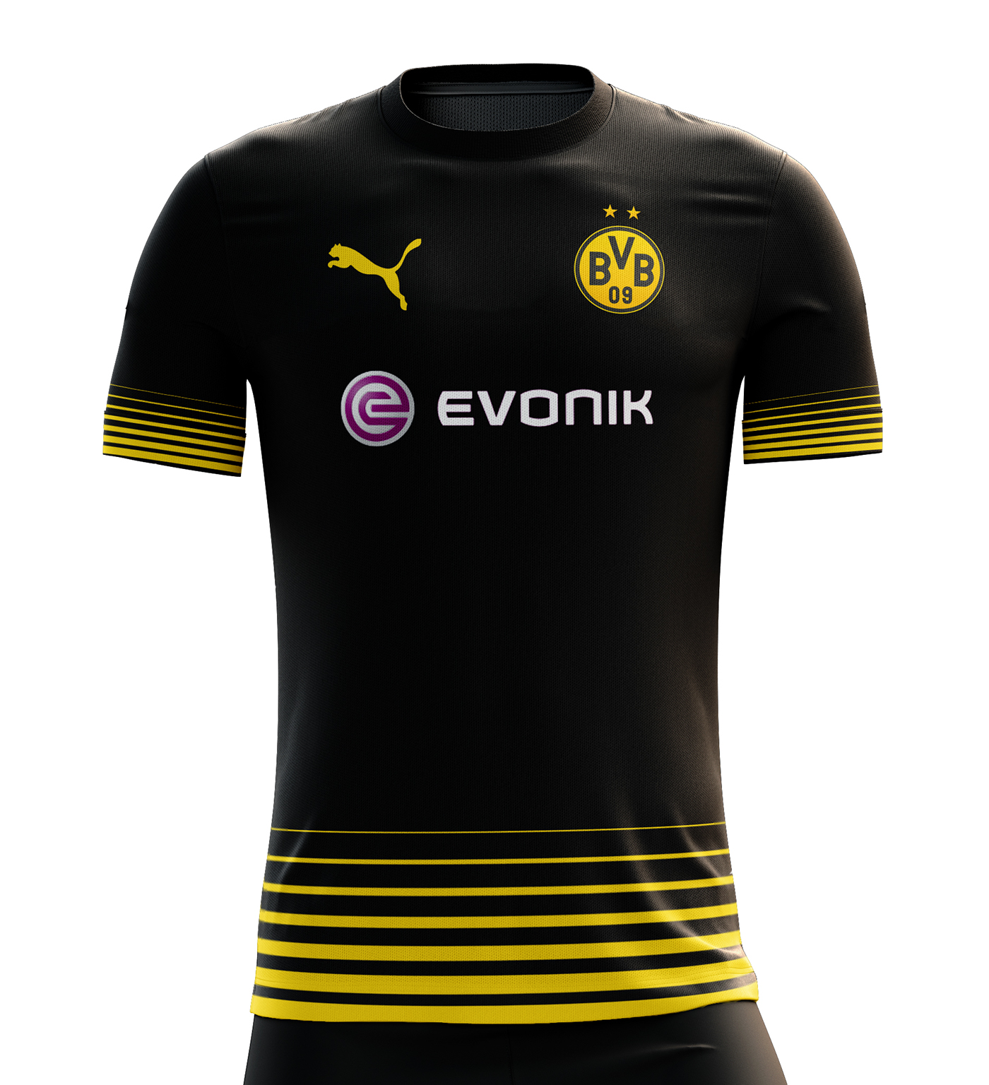 cc719995d Borussia Dortmund Football Kit 1718 on Behance soccer