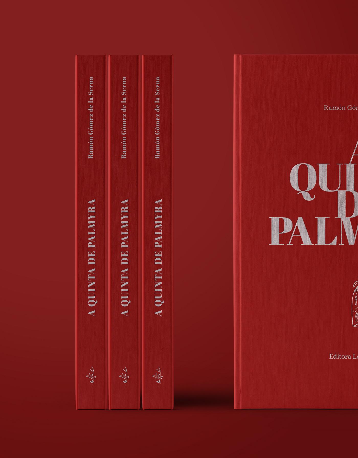 book editorial design  red hands