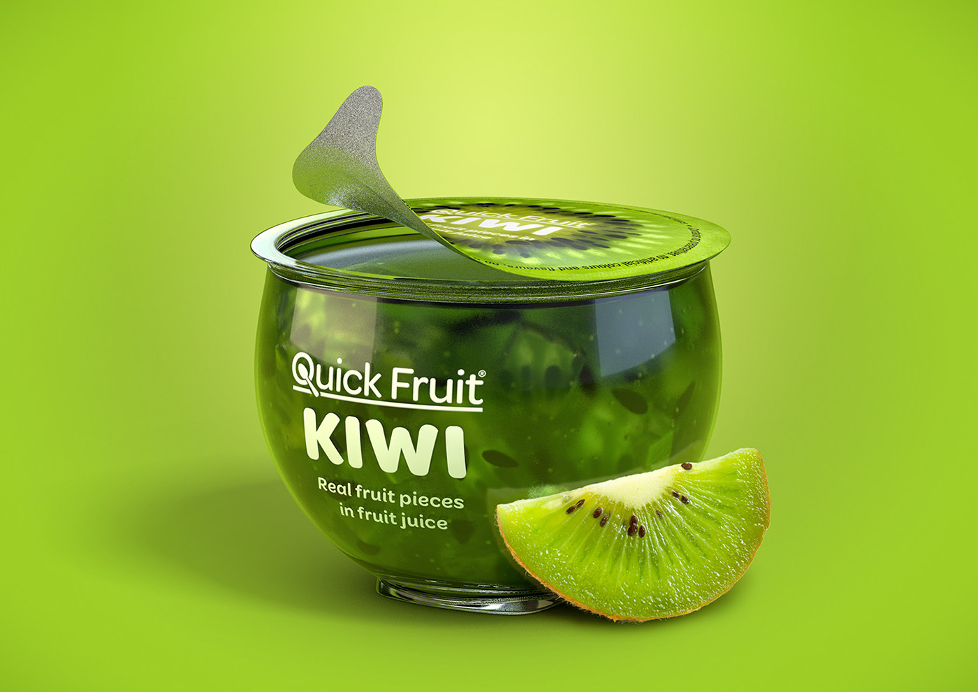 Marcel Buerkle Quick Fruit Quick Kiwi Quick Orange Quick Guava Quick packaging packaging design concept 3D renders johannesburg south africa