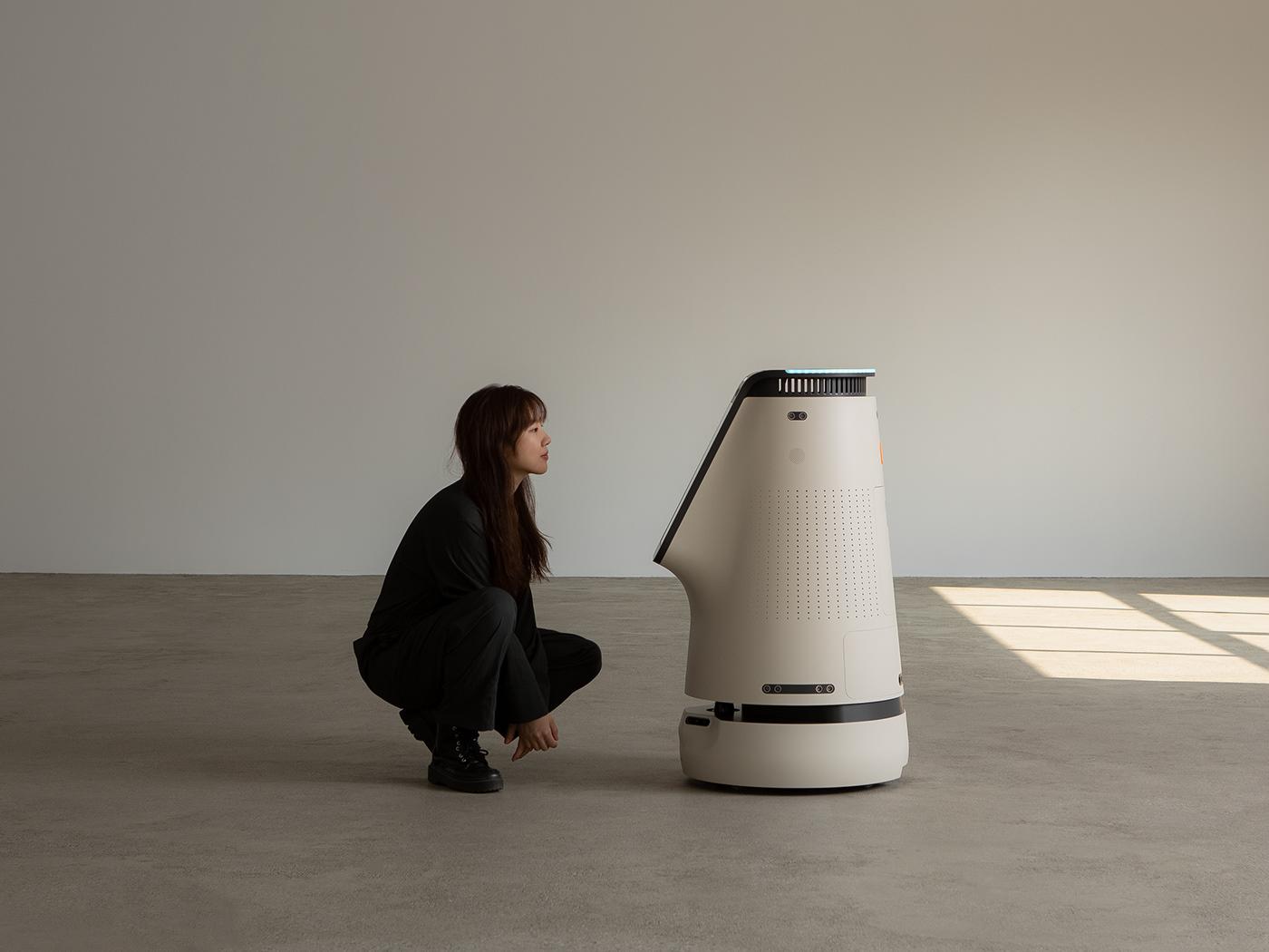ai air purifier Autonomous bebop purifier robot sensor zetabank