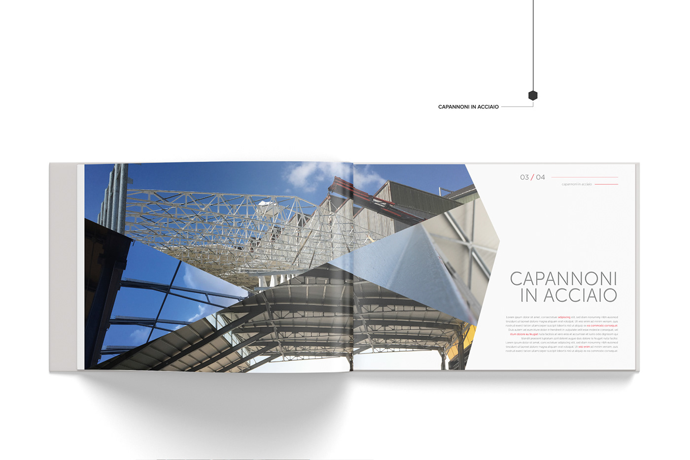 brand Catalogue news ideas graphic template photo Project