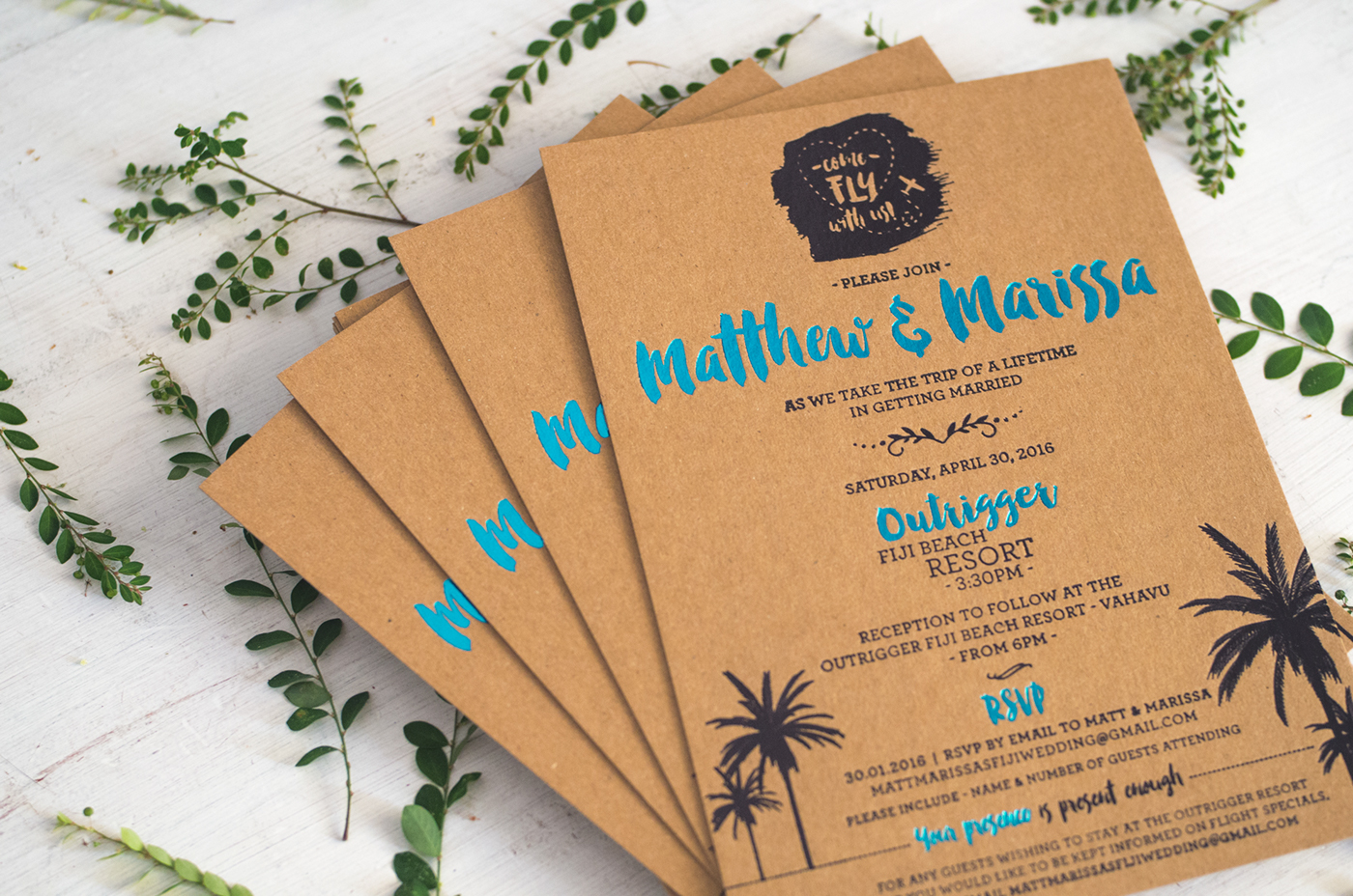 M&M Wedding Invitations on Behance