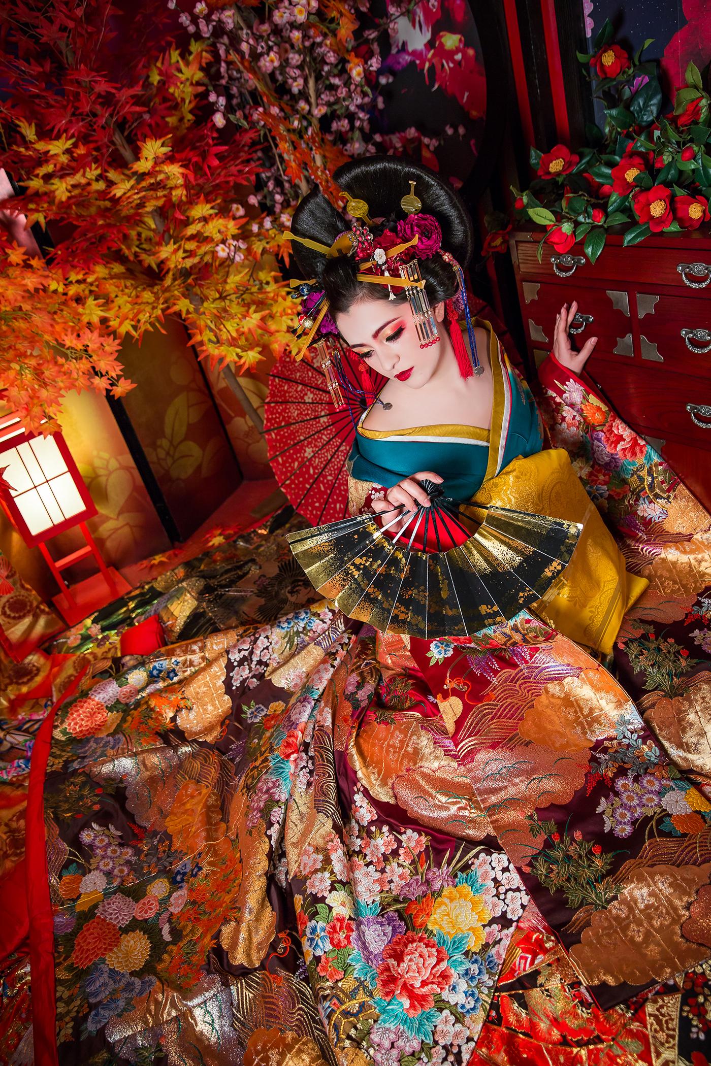 Esperanto japan oiran geisha kyoto stephanymarlen3 mexico tijuana beauty model