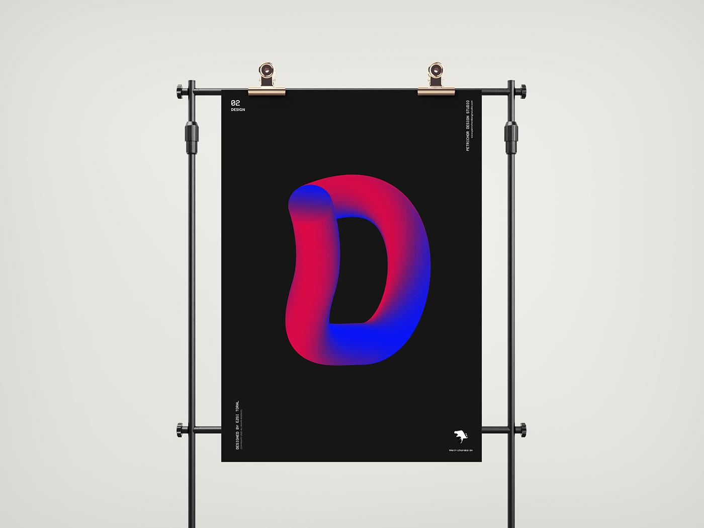 adobe design Illustrator poster print typography
