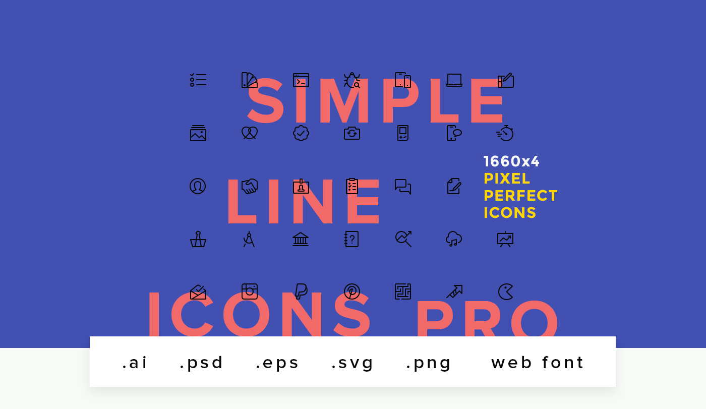 line Icon icons stroke outline UI Interface Web ios android icon set icon pack Outlined Icons stroke icons ui icons