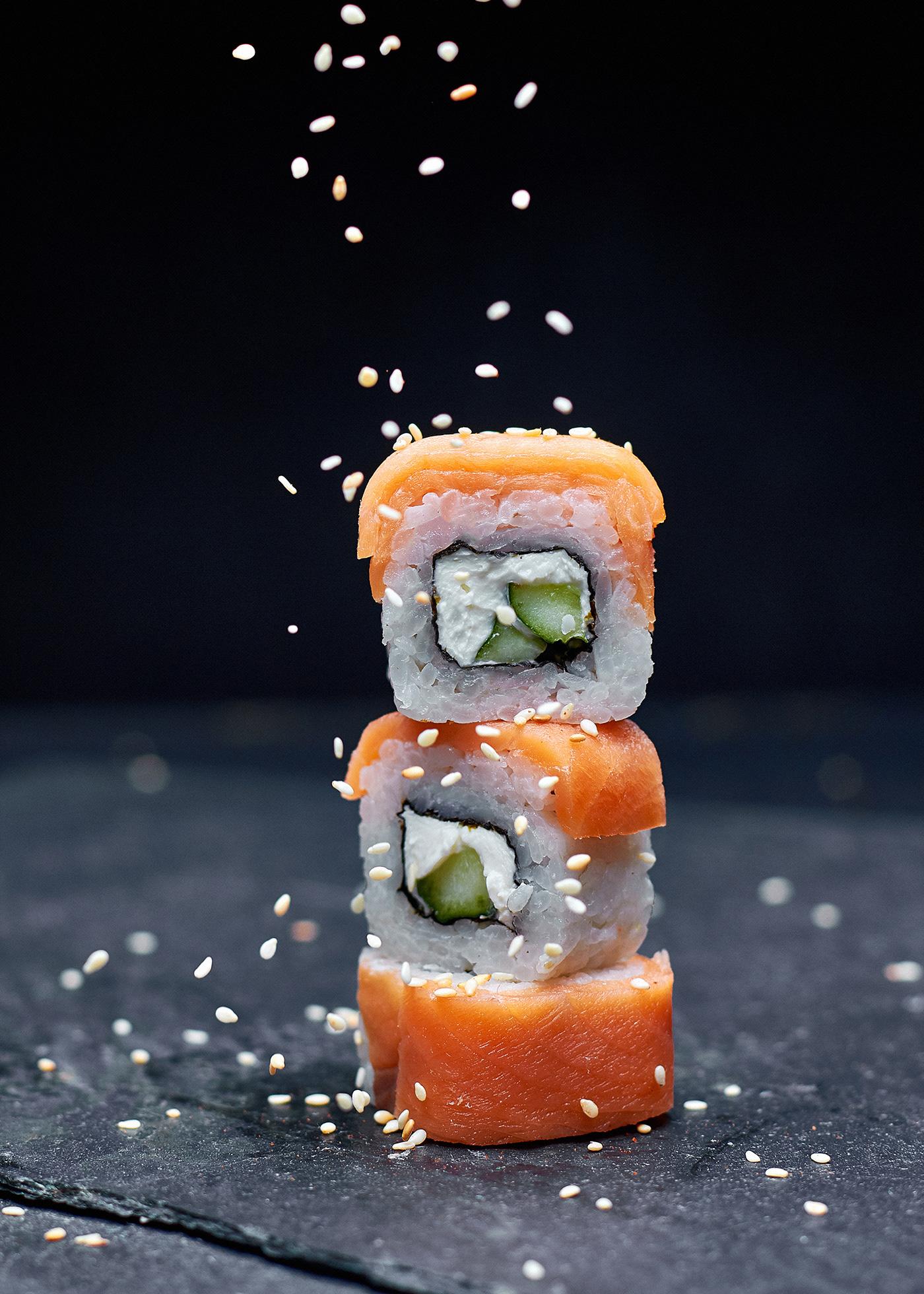 Реклама в картинках суши роллы