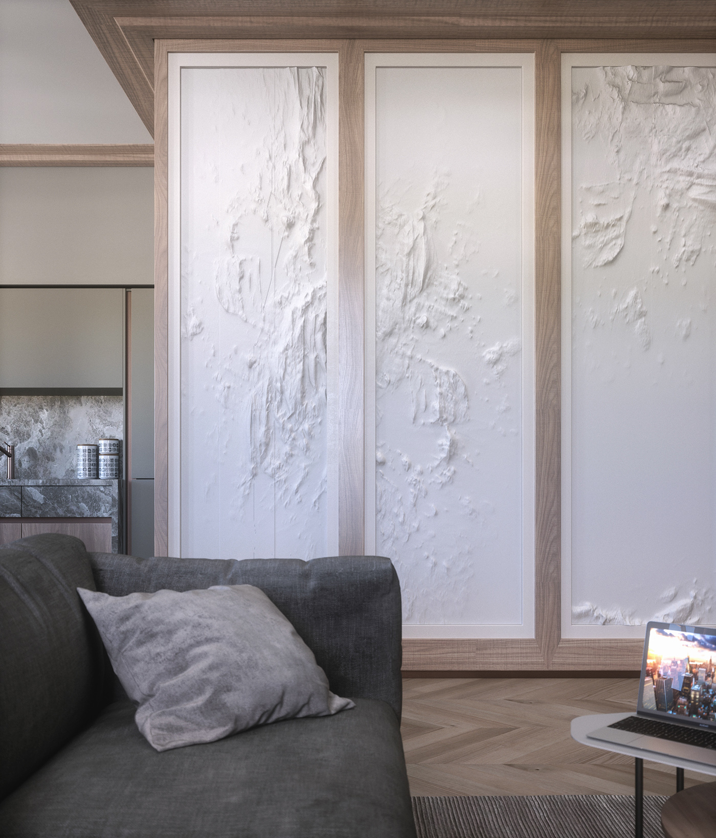 FStorm conceptvision blue red modern classic Natuzzi poliform plaster wood stone