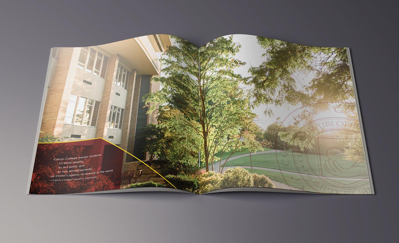 college Booklet brand book recruitment University