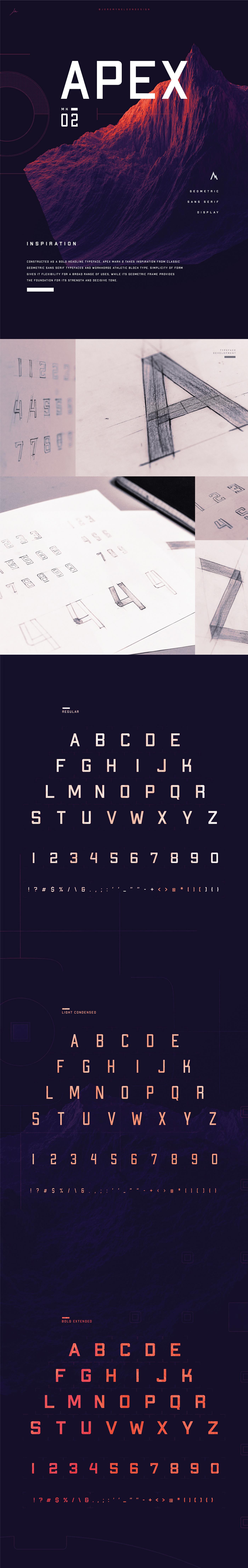 豐富的12張無襯線字體欣賞
