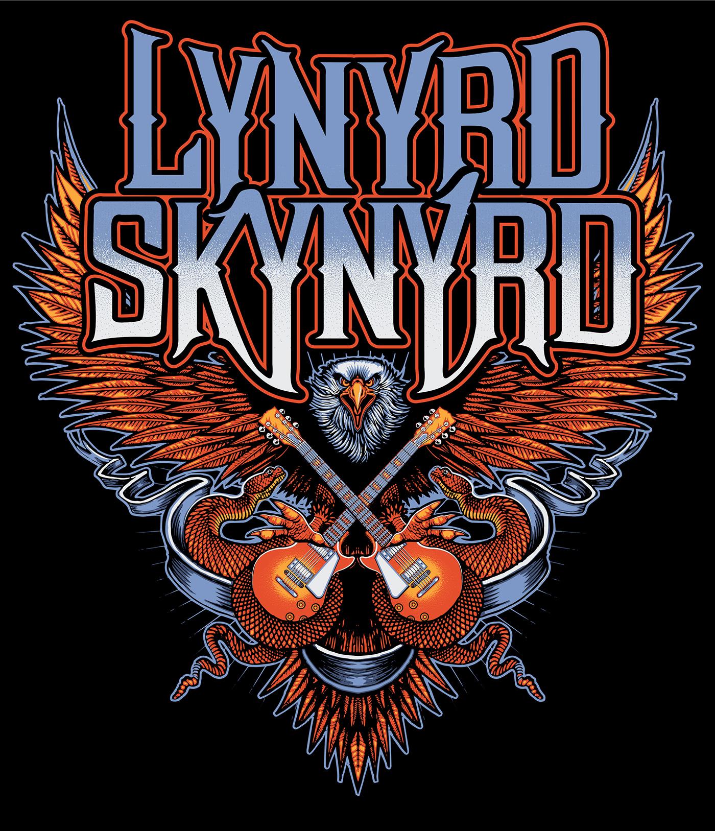 Lynyrd Skynyrd T-shirt Design On Behance