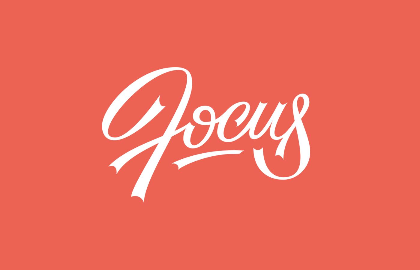 lettering Custom letters type logo Logotype GoodType typeverything ABC Script brush expressive